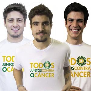 Camiseta Todos Juntos Contra o Câncer