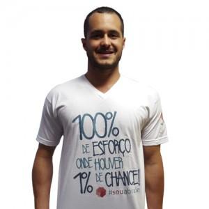 Camiseta Dia Mundial do Câncer – Gola Redonda